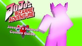 Projekt Jojo (Roblox): Joseph es Hamon, Beginners Combo Guide