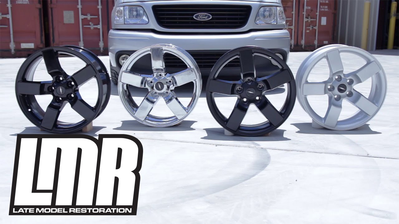 Ford F150 Rims >> 1993-04 Ford F-150 SVT Lightning Wheel Kits - YouTube