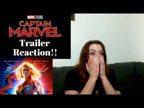 Captain Marvel Trailer REACTION!!
