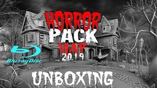 HORROR PACK MAY 2019 BLU RAU UNBOXING