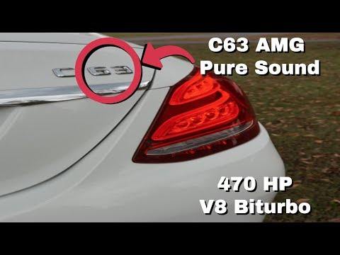 470 HP C63 AMG Exhaust Note! (Revs And Accelerations) *PURE SOUND HD*