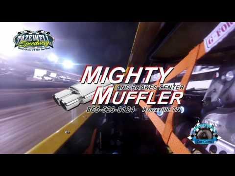 #P21 Robbie Buchanan - Street Stock - 6-2-17 Tazewell Speedway - In-Car Camera