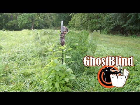GhostBlind Hunting Blinds in Action - Not Seeing is Believing!