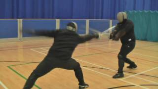 Rapier vs longsword Mike & Nick AHF Sparring