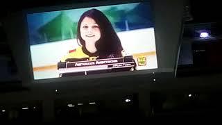 Выступление перед хоккеем (Пенза)