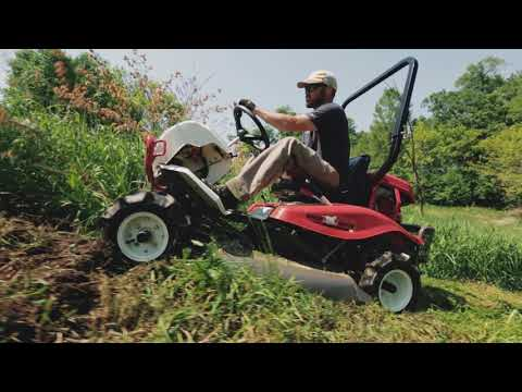 A 4WD Brush Mowing Demo