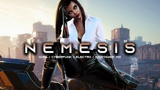 NEMESIS - Evil Electro / Dark Synthwave / Cyberpunk / Industrial / Dark Electro / Midtempo Music Mix