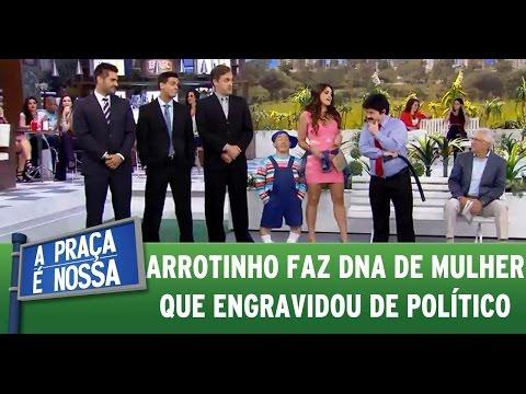 A Praça é Nossa (19/05/16) - Arrotinho faz DNA de mulher que engravidou de político