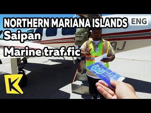 【K】Northern Mariana Islands Travel-Saipan[북마리아나제도 여행-사이판]해상 교통의 독특함/Marine traffic/Airport/Boarding