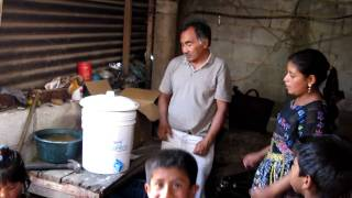 Water Filter given to a family in Patzicia Travel Video