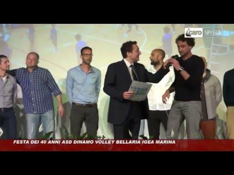 Icaro Sport. Festa dei 40 anni della Dinamo Volley Bellaria Igea Marina