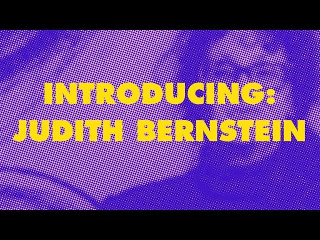Alive in the Archive: Judith Bernstein