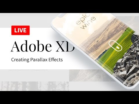 Creating Beautiful Adobe XD Parallax Effects from Scratch