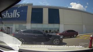 Mercedes Benz Canada Service Fraud  -  Mississauga S63 AMG Service Appointment Dashcam Video! thumbnail