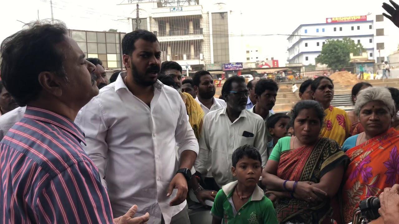Nellore City MLA Anil Kumar Yadav Garu Fire