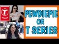 Asking People PEWDIEPIE vs T SERIES on OMEGLE