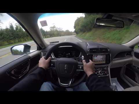 2017 Lincoln Continental POV! / AutoVlog