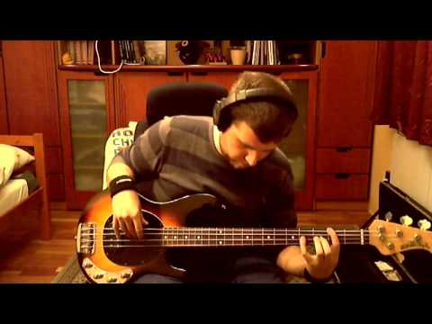 John Mayer Slow Dancing In A Burning Room Live In La Bass Cover Youtube