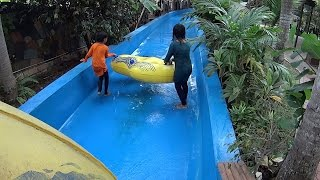 Scary River Water Slide at Wet World Water Park