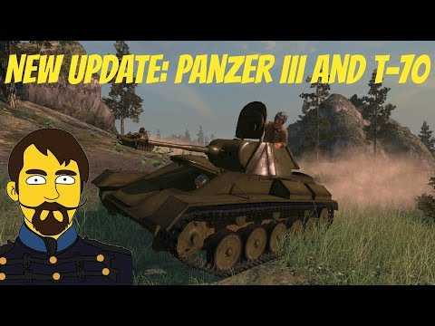 Red Orchestra 2 New Update: Panzer III and T-70