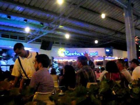 Puerta del sol cafe santiago dr youtube for Puerta del sol santiago