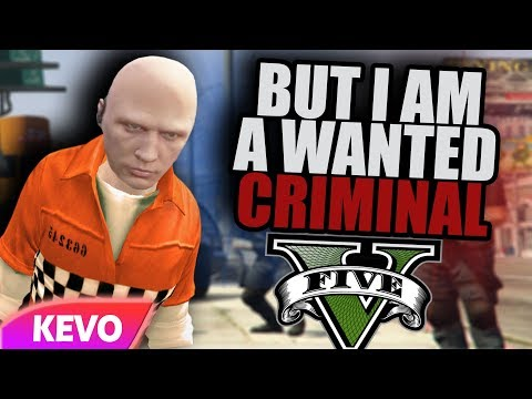 GTA V RP but I am a wanted criminal