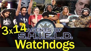 Agents of Shield - 3x14 Watchdogs - Group Reaction