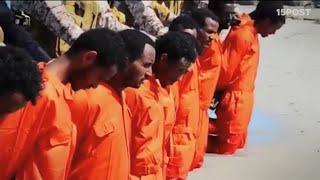 Repeat youtube video Nuevo video de ISIS muestra supuesta matanza de Cristianos Etíopes capturados en Libia