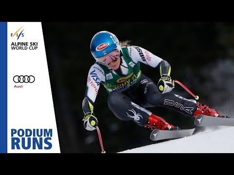 Mikaela Shiffrin | Ladies' SuperG | Lake Louise | 1st place | FIS Alpine