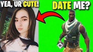 Helping a Fan Date His Crush - Fortnite