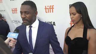 """Idris Elba at the TIFF Red Carpet Premiere of """"The Mountain Between Us"""""""