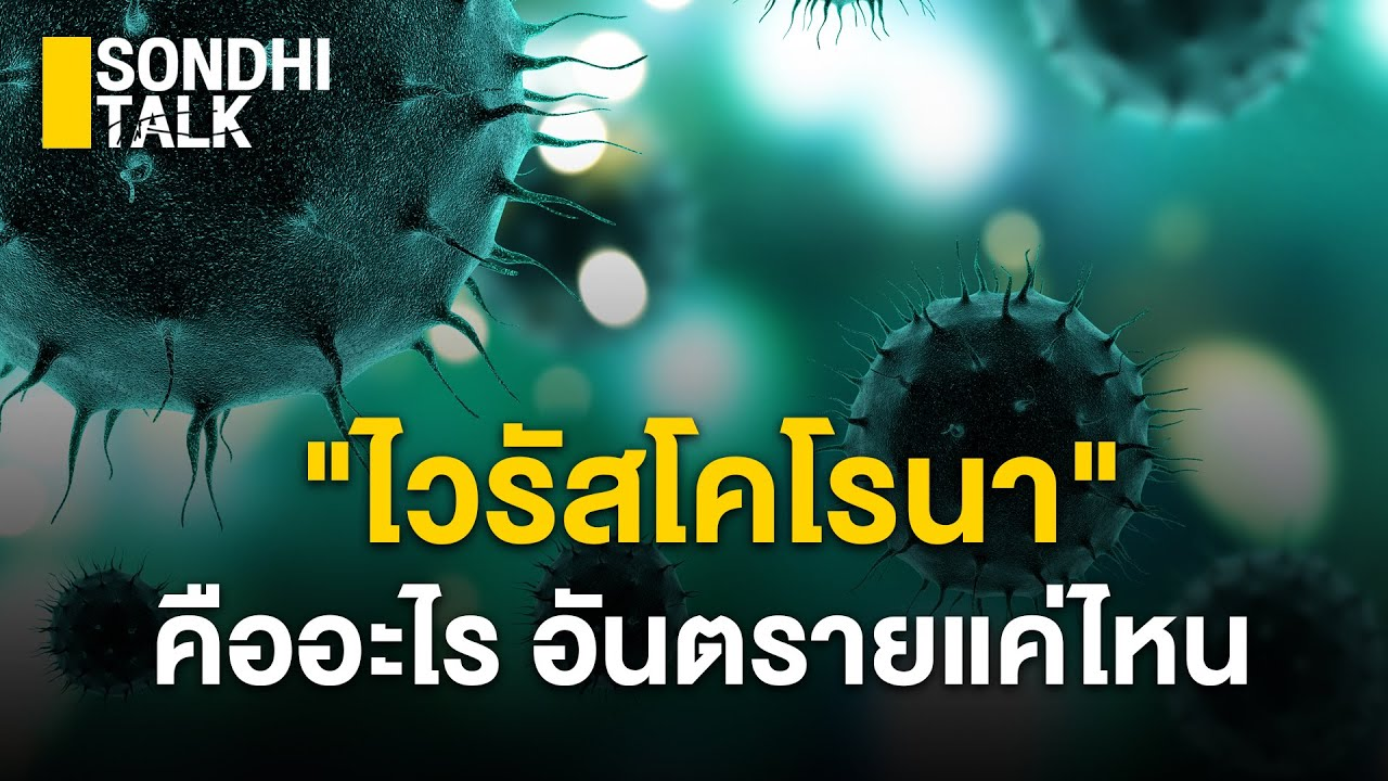 """""""ไวรัสโคโรนา"""" คืออะไรอันตรายแค่ไหน : Sondhitalk (ผู้เฒ่าเล่าเรื่อง) EP. 18"""