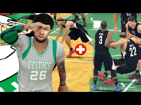 GREATEST ANKLE BREAKER IN 2K HISTORY!? BROKEN ANKLE INJURY!! NBA 2k17 MyCAREER Ep. 59