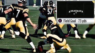 What NFL Superstar Can Kick The Longest Field Goal! Madden 18 Challenge