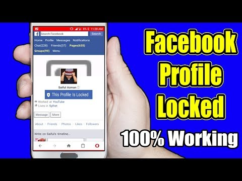 How To Lock Your Facebook Profile For Extra Security -2019