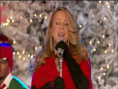 "[HD] MARIAH CAREY ""OH SANTA!"" LIVE ROCKEFELLER CENTER 2010"