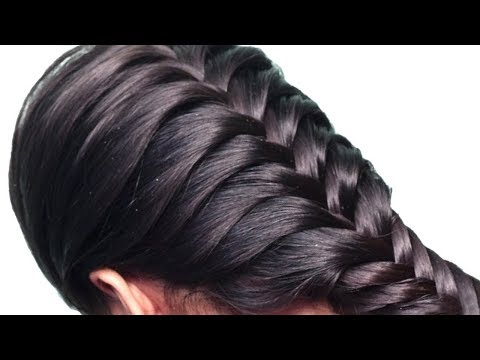 New trending hairstyle for girls || updo hairstyles || latest Party hairstyles || braided hairstyle thumbnail