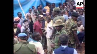 Rwanda - Tutsi Rebels Seize Kigali/French Troops
