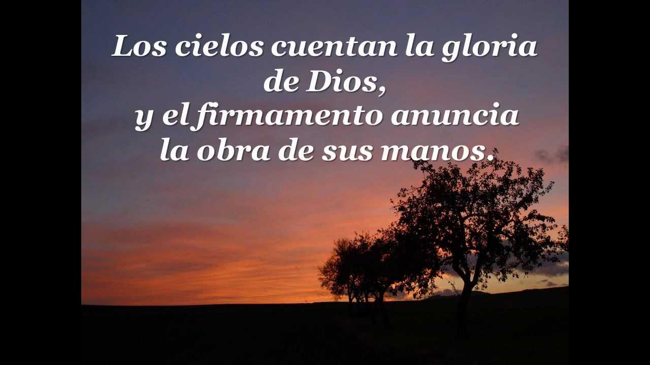 Image Gallery salmo 19 espanol