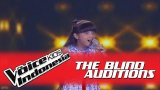 Kayla Bimbang I The Blind Auditions I The Voice Kids Indonesia GlobalTV 2016