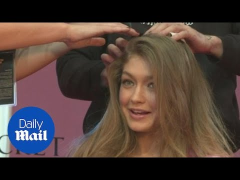 A glimpse into life backstage at Victoria's Secret Fashion Show in Paris. - Daily Mail