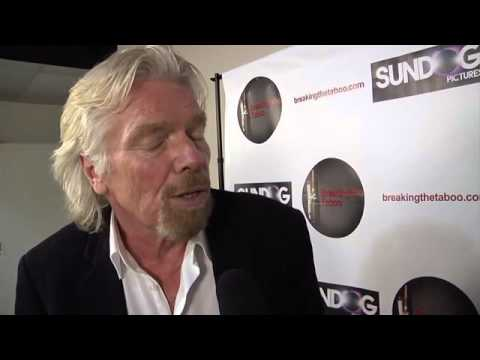 "Sir Richard Branson Interview with Jetset Magazine - ""Breaking the Taboo"" Documentary"