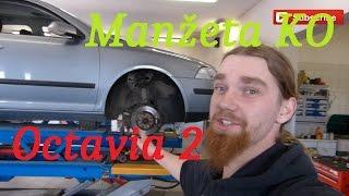 Octavia II Výměna Manžety :) BEZ KOMPRESE (:  Škoda, VW, Seat Audi