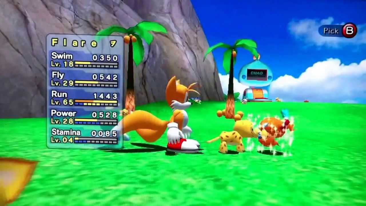 Sonic Adventure 3 News Chao Garden Youtube