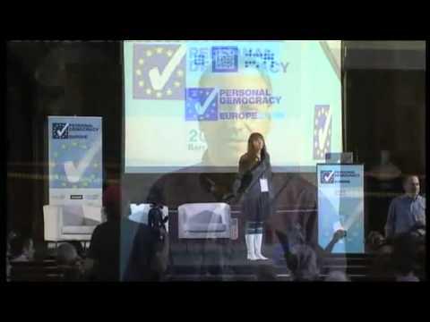 PdF Europe 2010 | Birgitta Jondsdottir: The Icelandic Modern Media Initiative