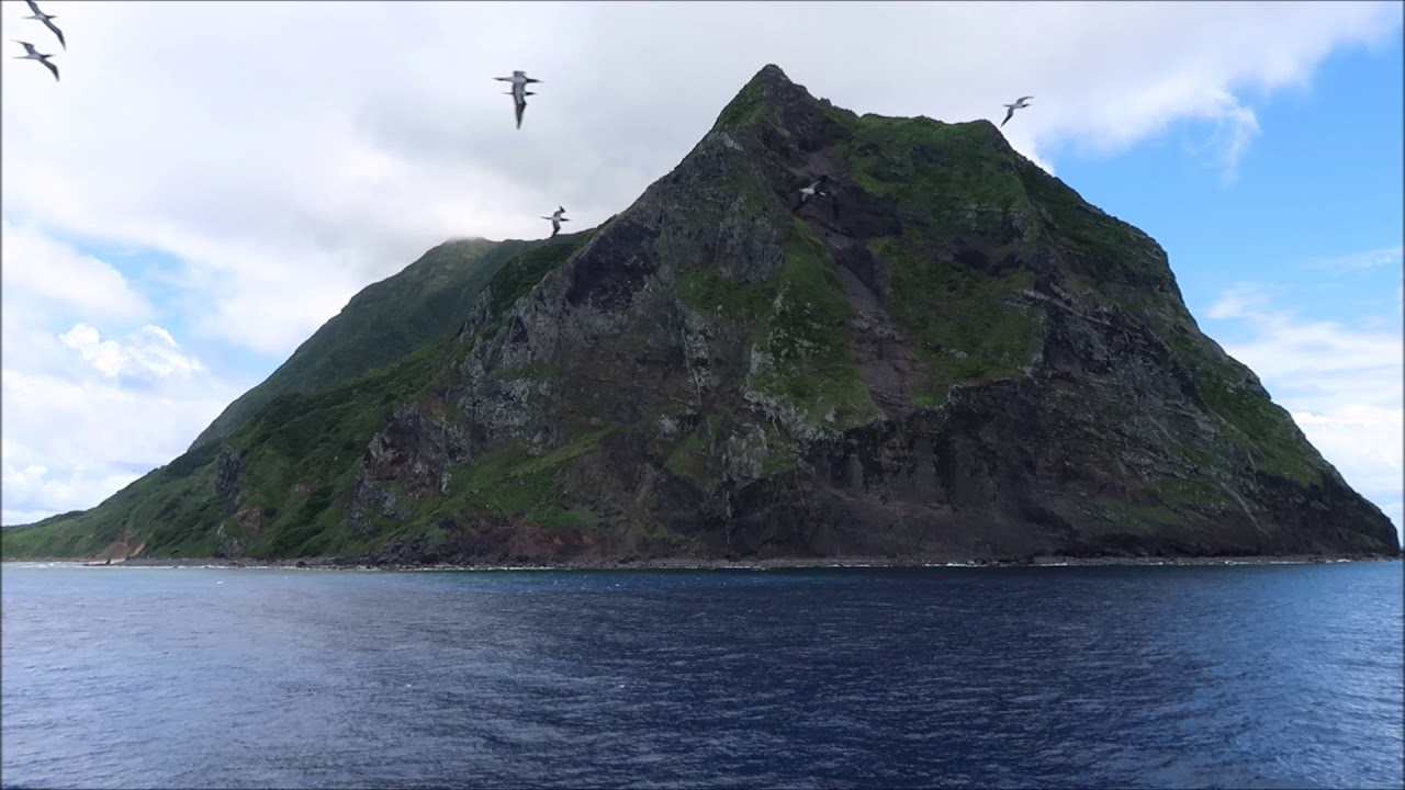 〔2019年7月〕北硫黃島 - YouTube