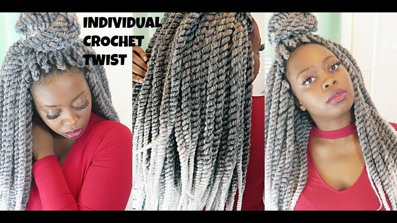 diy || individual crochet havana mambo twist braids || protective hairstyle