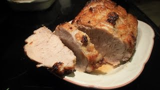 Sweet and Savory Holiday Pork Roast