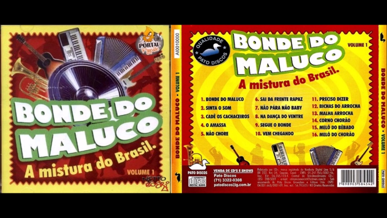 1 BONDE DO BAIXAR CD MALUCO COMPLETO VOL