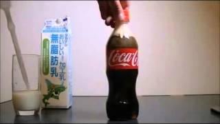 Кока кола и молоко, ЭКСПЕРИМЕНТ!!!